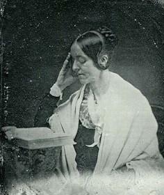 Daguerreotype of Margaret Fuller, feminist, transcendentalist